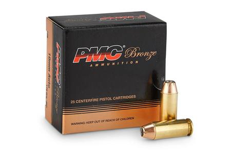 PMC 10mm Auto 175 gr JHP Bronze 25/Box