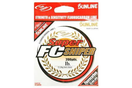 Sunline Fishing Line Sunline Super FC Sniper Fluorocarbon 165-200 Yards