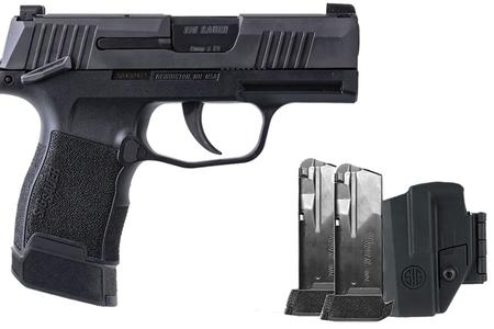 SIG SAUER P365 9MM TACPAC WITH 3 MAGS AND HOLSTER