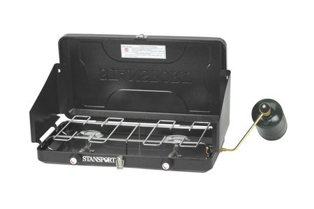 TWO BURNER PROPANE STOVE 203