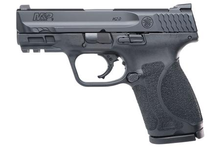SMITH AND WESSON MP9 M2.0 Compact 9mm Striker-Fired Pistol with 3.6 Inch Barrel and Night Sights (LE)