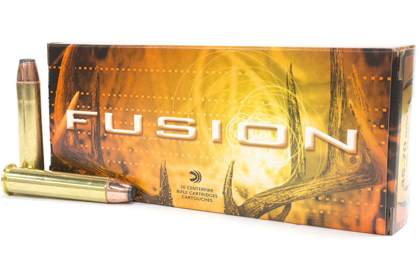 45-70 Govt 300 gr Soft Point Fusion 20/Box