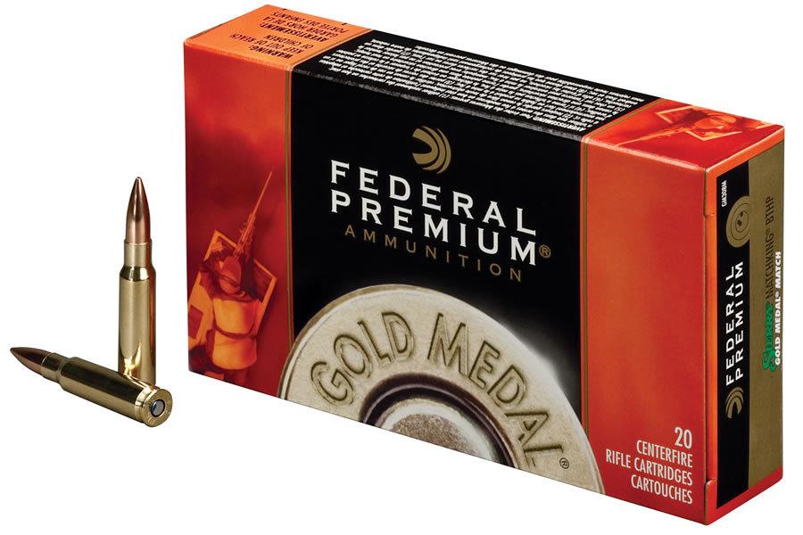 223 Rem 69 gr Sierra MatchKing BTHP Gold Medal 20/Box
