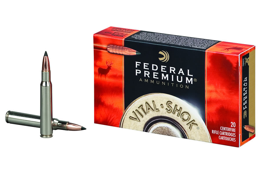 Federal ammunition 270 win 130 gr nosler ballistic tip vital shok 20