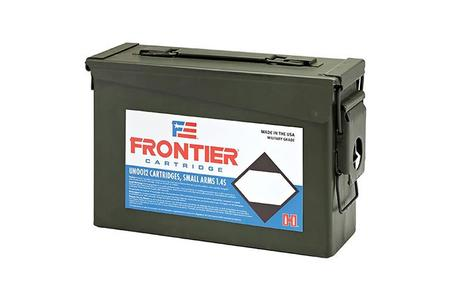 Hornady 5.56 NATO 55 gr FMJ (M193) Frontier 500 Rounds in Ammo Can