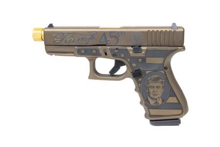 GLOCK 19 GEN4 9MM DONALD TRUMP EDITION PISTOL