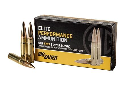 Sig Sauer 300 Blackout 125 gr FMJ Elite Performance 20/Box