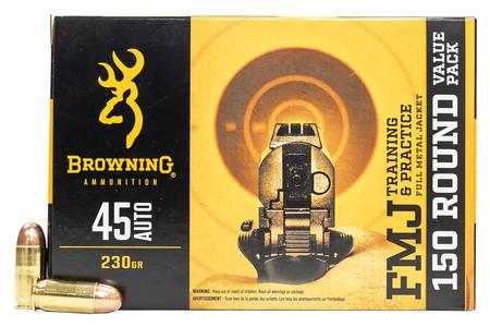 Browning 45 ACP 230 gr FMJ 150 Round Value Pack