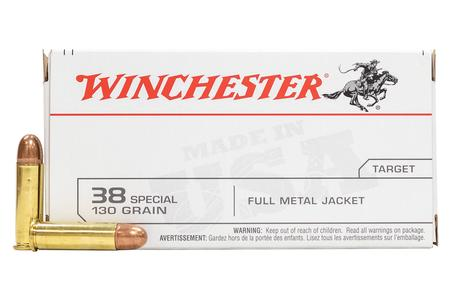 Winchester 38 Special 130 gr FMJ 100 Round Value Pack