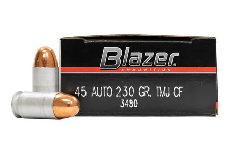 CCI 45 ACP 230 gr TMJ Clean Fire Blazer Police Trade Ammo 50/Box