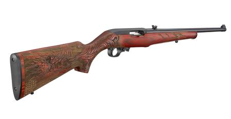RUGER 10/22 22LR RED DRAGON LAMINATE