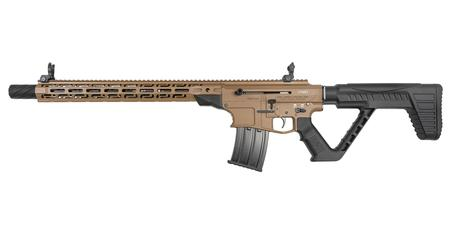 ROCK ISLAND ARMORY VR80-A 12 GAUGE SEMI-AUTO SHOTGUN WITH FDE FINISH