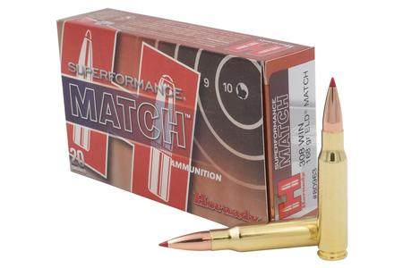 Hornady 308 Win 168 gr ELD Match Superformance Match 20/Box