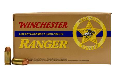 WINCHESTER AMMO 40SW 180 gr FMJ Reduced Lead Ranger Police Trade Ammo 50/Box