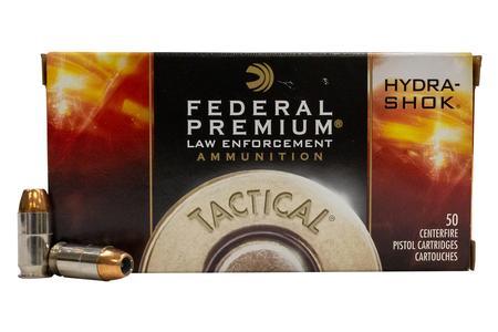 Federal 45 Auto 230 gr Hydra-Shok JHP Police Trade Ammo 50/Box