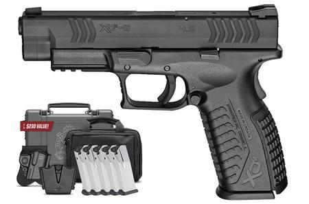 SPRINGFIELD XDM 9MM 4.5 FULL-SIZE INSTANT GEAR UP PACKAGE