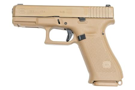 GLOCK 19X 9MM FULL-SIZE FDE PISTOL (USA)