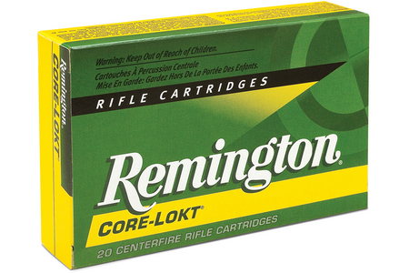 REMINGTON 30-06 Springfield 150 gr PSP Core-Lokt 20/Box