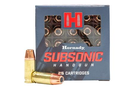 Hornady 9mm Luger 147gr XTP Subsonic 25/Box