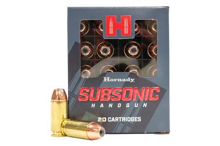 Hornady 40SW 180 gr XTP Subsonic 20/Box