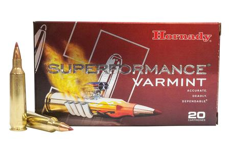 HORNADY 22-250 Rem 35 gr V-Max Superformance Varmint 20/Box