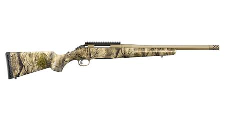 RUGER AMERICAN RIFLE 6.5 CREEDMOOR 16 INCH BBL WITH GO WILD I-M BRUSH CAMO