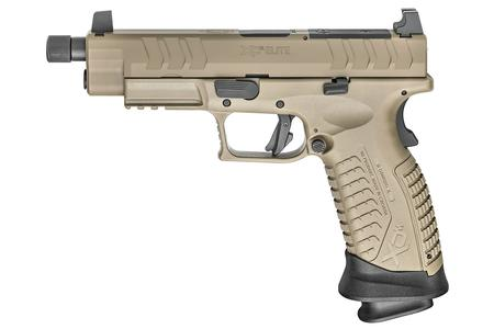 SPRINGFIELD XD-M ELITE TACTICAL OSP 9MM 4.5 INCH BBL PISTOL WITH FDE FINISH