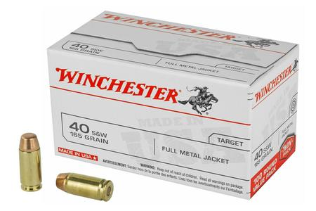 Winchester 40SW 165 gr FMJ 100 Round Value Pack