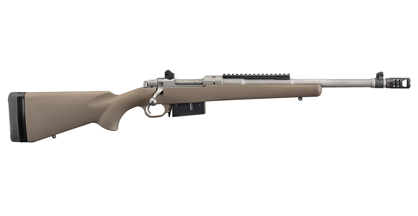 SCOUT 450 BUSHMASTER BOLT ACTION RIFLE FDE STOCK