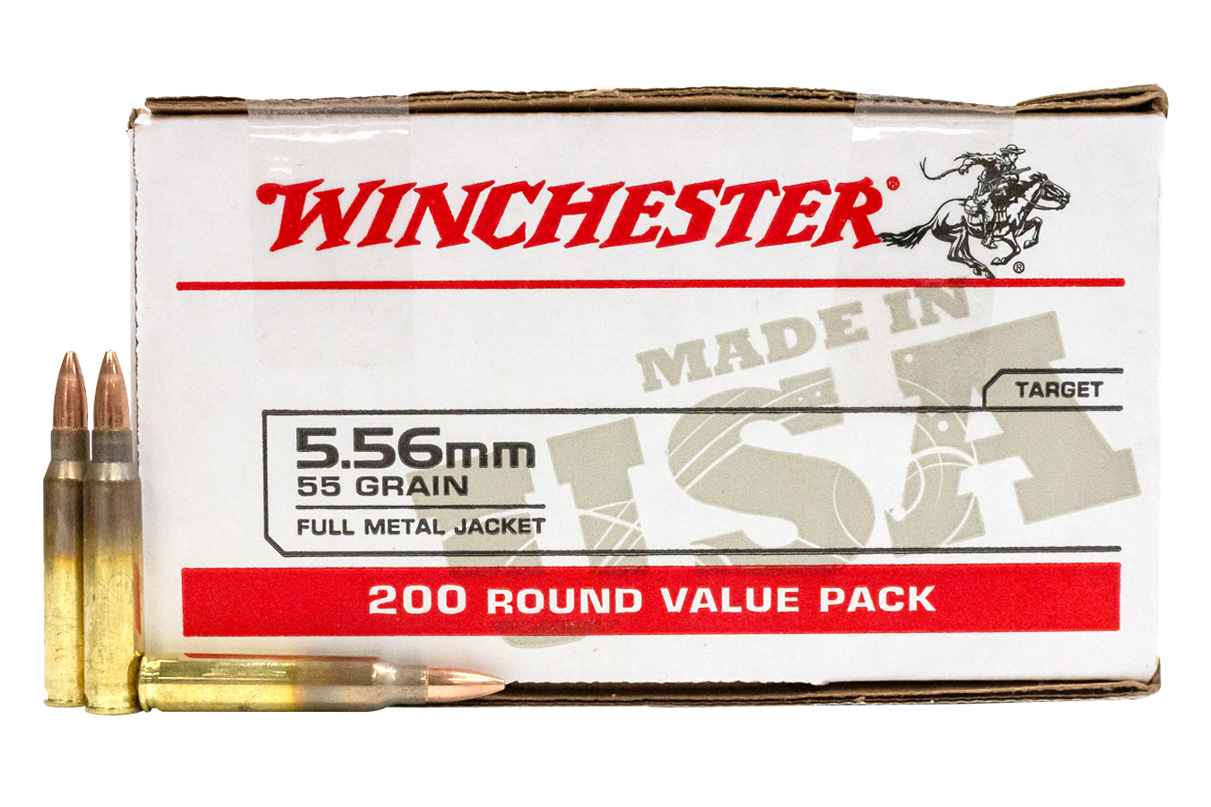 5.56MM 55 GR FMJ USA LC VALUE PACK