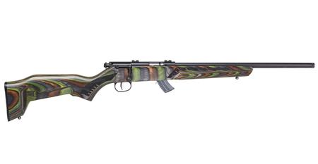 SAVAGE MARK II MINIMALIST GREEN STOCK 22 LR 18 IN BBL