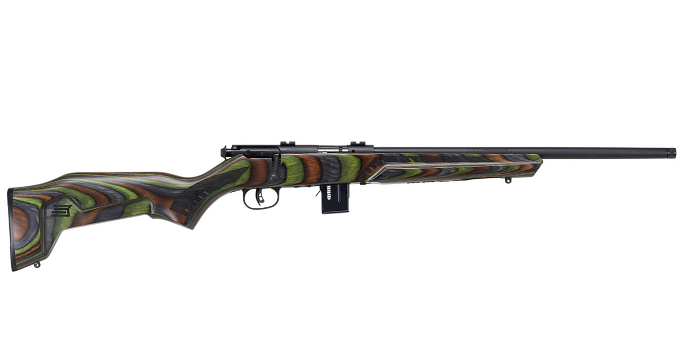 93R17 MINIMALIST 17 HMR WITH GREEN LAMINATE STOCK