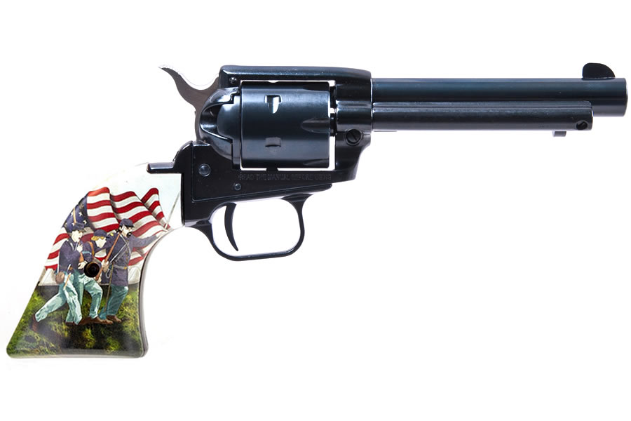 No. 3 Best Selling: HERITAGE ROUGH RIDER 22 LR 4.75` BBL CIVIL WAR