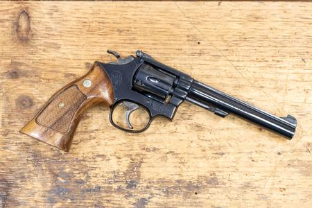 SMITH AND WESSON MODEL 17 .22LR USED