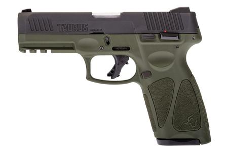 TAURUS G3 9MM STRIKER-FIRED PISTOL WITH OD GREEN FRAME