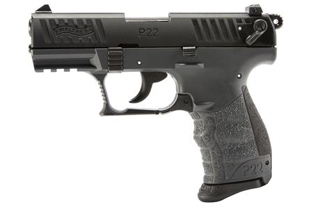 WALTHER P22Q 22 LR 3.42 IN BBL TUNGSTEN GRAY FRAME