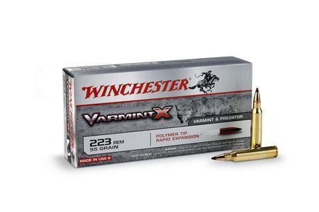 Winchester 223 Rem 55 Gr PTRE Varmint X 20/Box