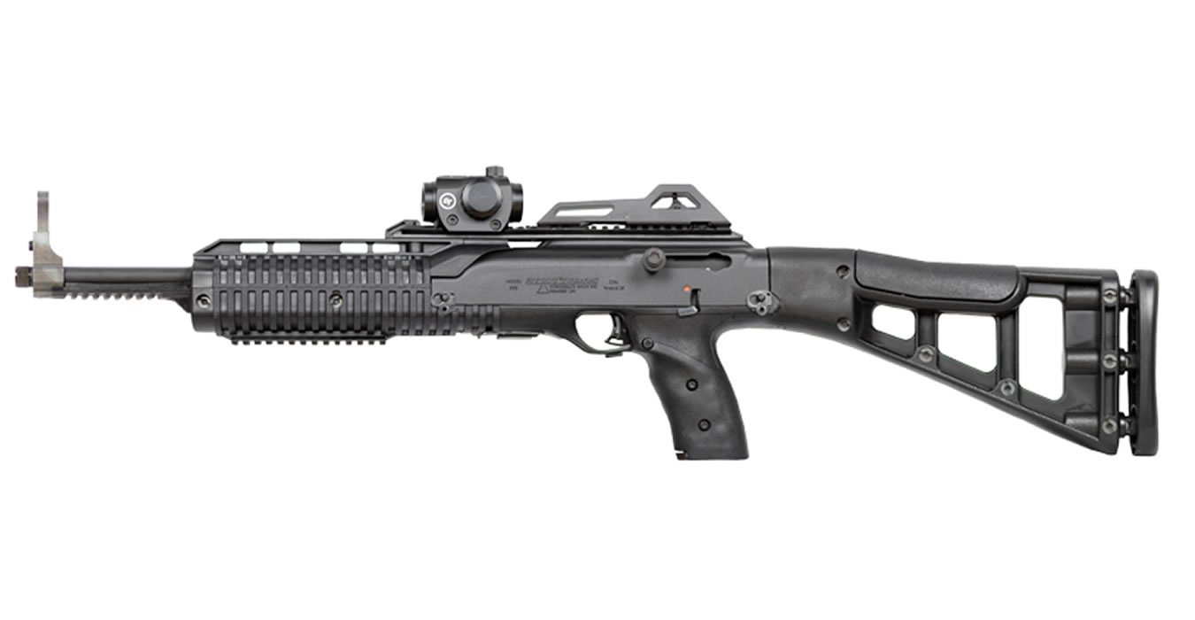 995TS 9MM TACTICAL CARBINE WITH CRIMSON TRACE RED DOT SIGHT