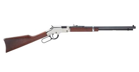 HENRY REPEATING ARMS GOLDEN BOY SILVER 22 LONG RIFLE 2020 TRUMP LEVER-ACTION RIFLE