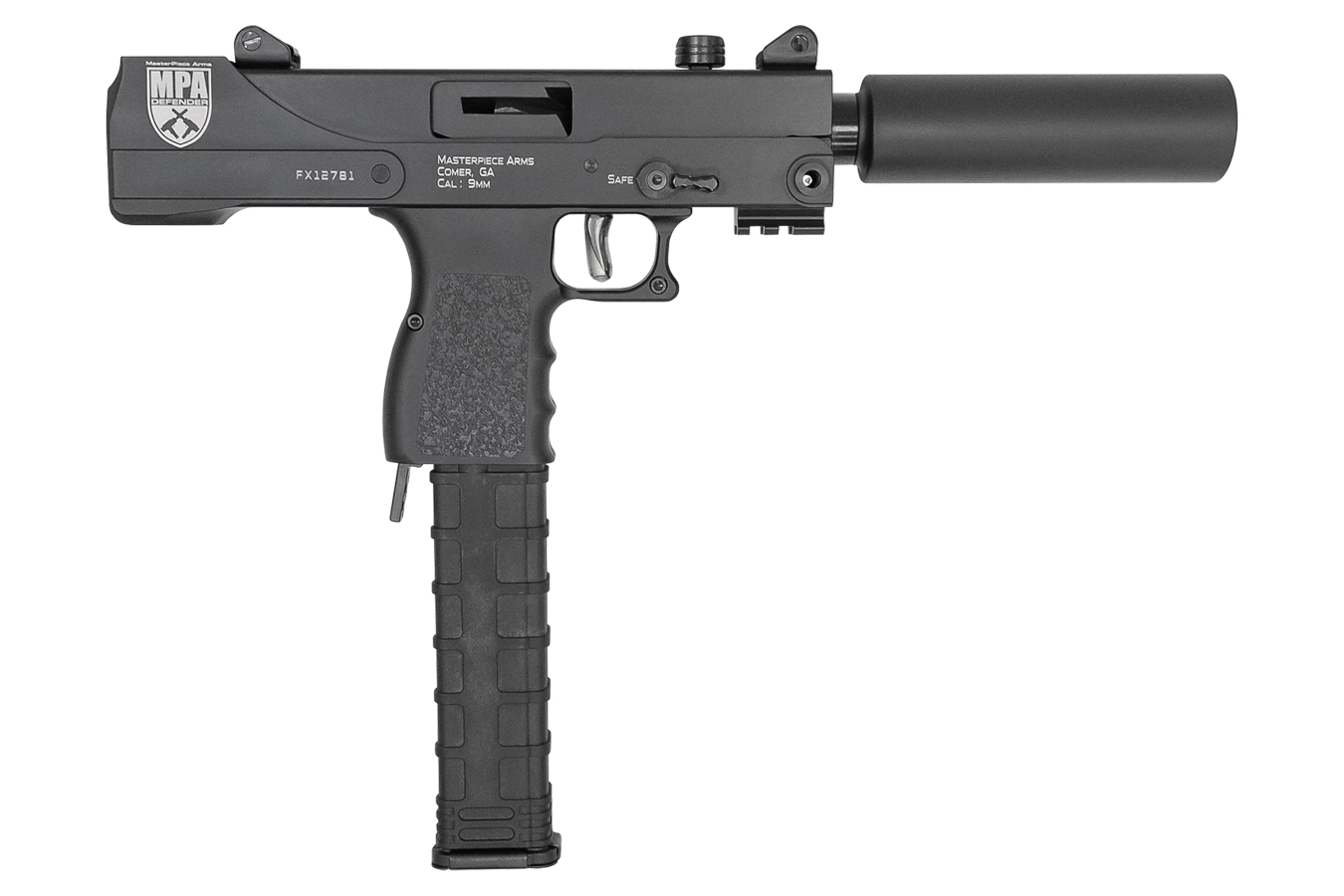 MPA DEFENDER 9MM PISTOL