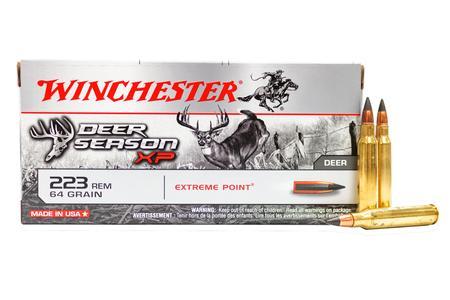 Winchester 223 Remington 64 gr Extreme Point Deer Season XP 20/Box