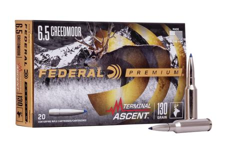 Federal 6.5 Creedmoor 130 gr Terminal Ascent Bonded 20/Box