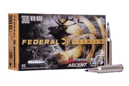 FEDERAL AMMUNITION 300 Win Mag 200 gr Terminal Ascent 20/Box