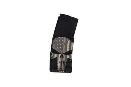 BLACK RAIN ORDNANCE 5.56mm 30-Round AR-15 Magazine with American Flag Punisher
