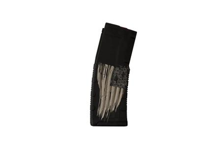 BLACK RAIN ORDNANCE 5.56mm 30-Round AR-15 Magazine with Tattered Flag