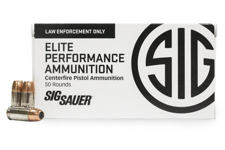 Sig Sauer 9mm 147 gr Jacketed Hollow Point Elite Performance 50/Box
