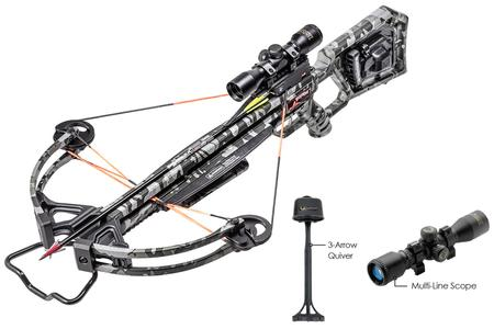 RAMPAGE 360 ACU DRAW CROSSBOW PACKAGE