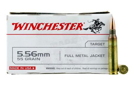 WINCHESTER AMMO 5.56mm 55 gr Full Metal Jacket USA 20/Box