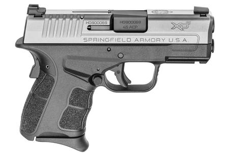 SPRINGFIELD XDS MOD.2 3.3 45 ACP STAINLESS WITH TRITIUM FRONT