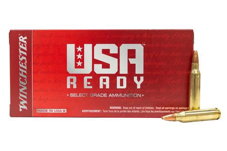 Winchester 223 Rem 62 gr Open Tip USA Ready 20/Box